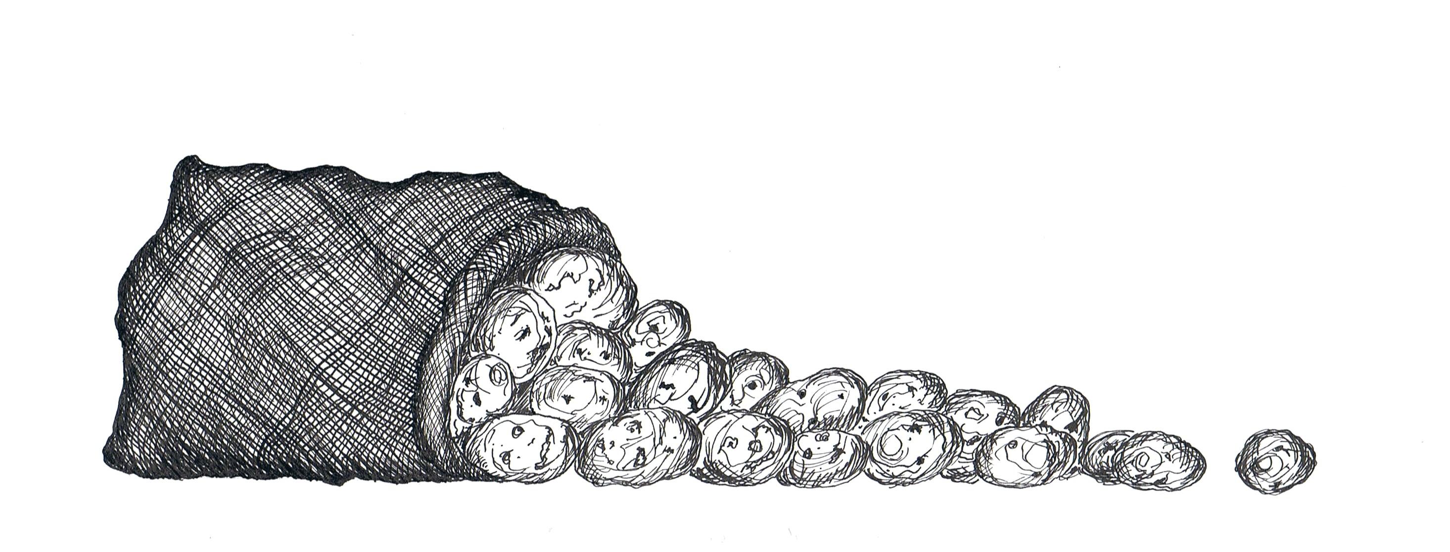 Goulash van aardappelen
