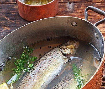 forel in dillesaus