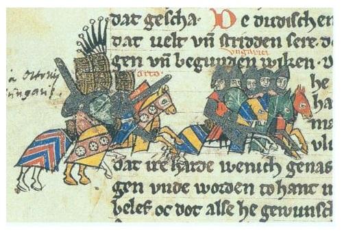 Slag op het Lechfeld - keizer Otto I