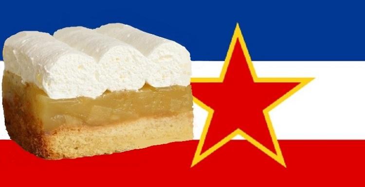 Joegoslavische appeltaart