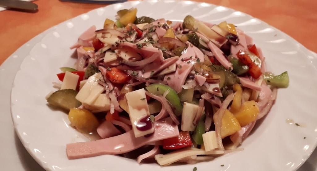 Worstsalade
