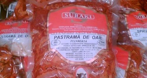 Pastrami van lamsvlees