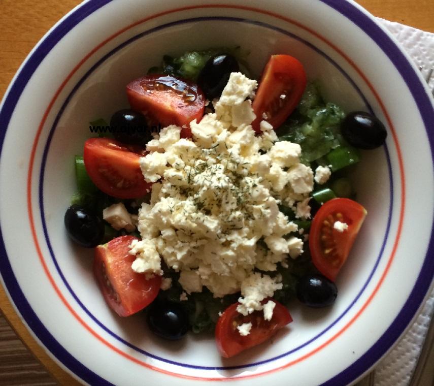 Salată Dobrogeană
