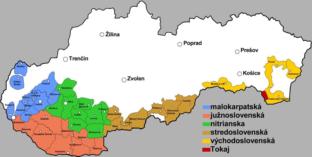 Wijn uit Slowakije
