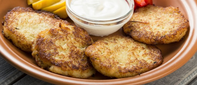 Zoete aardappelpannenkoekjes