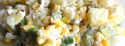 Kerst aardappelsalade